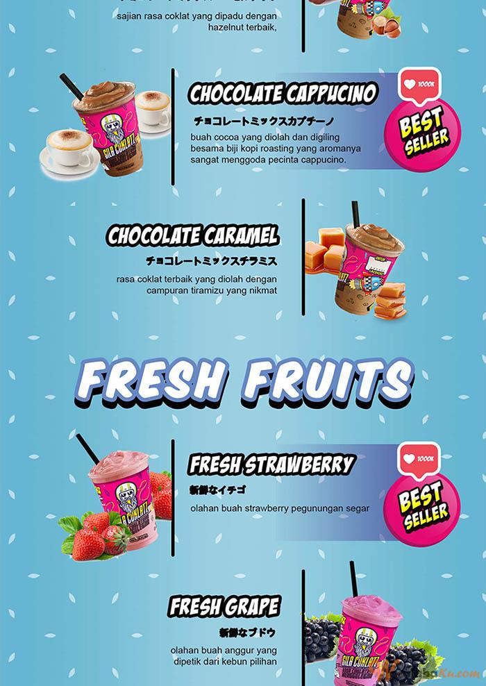 Franchise Peluang Usaha Minuman Ice Blend gilacoklatz