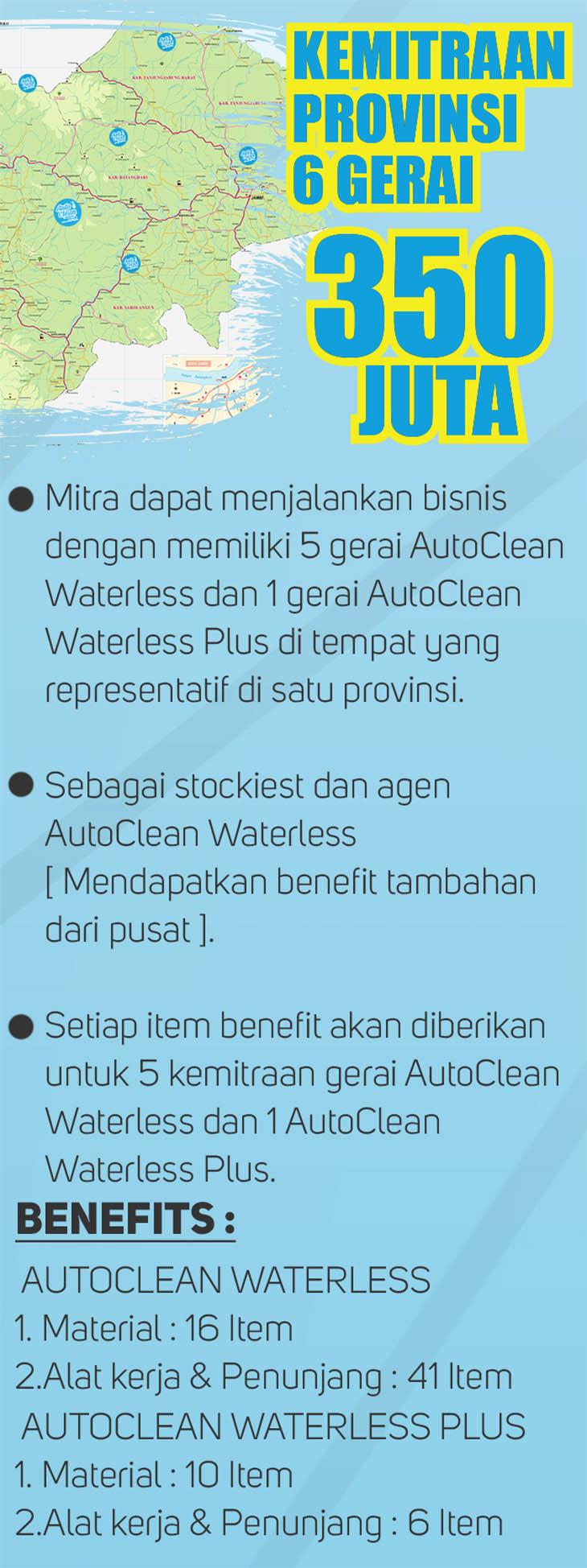 Franchise Peluang Usaha AutoClean Waterless