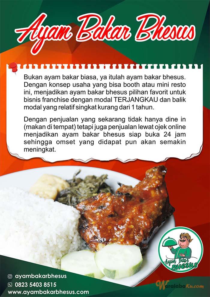 Franchise Peluang Usaha Ayam Bakar Bhesus