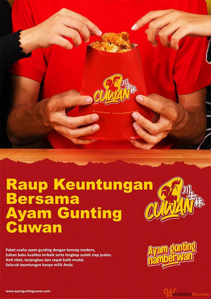 Franchise AYAM GUNTING CUWAN | Peluang Bisnis Makanan ...