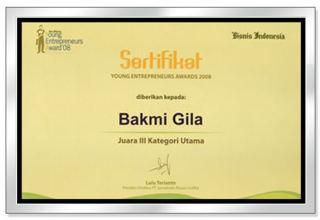 Bakmi Gila - Young Entrepreneur Awards 2008