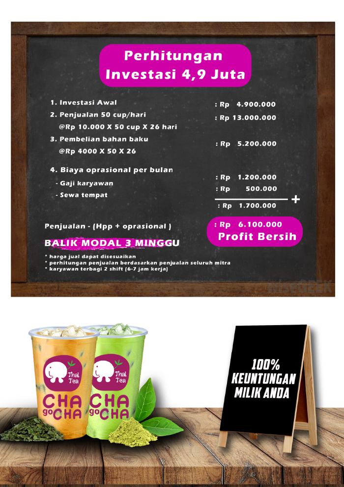 Franchise Peluang Usaha Chagocha Indonesia