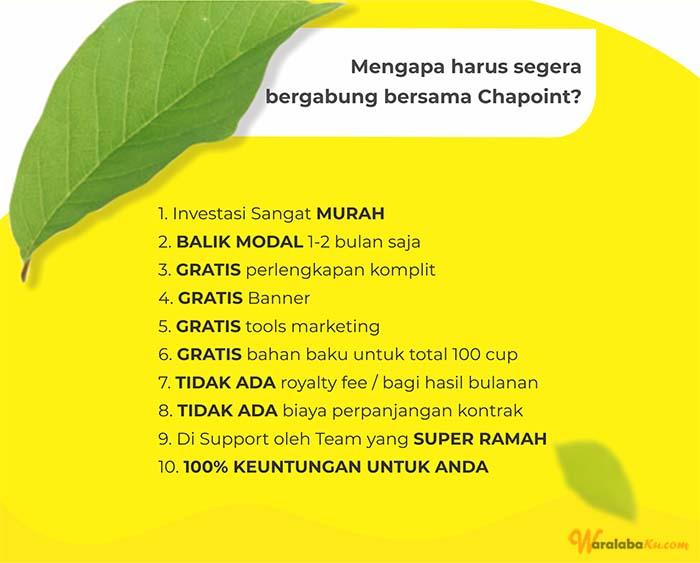 Franchise Peluang Usaha Chapoint Thai Tea
