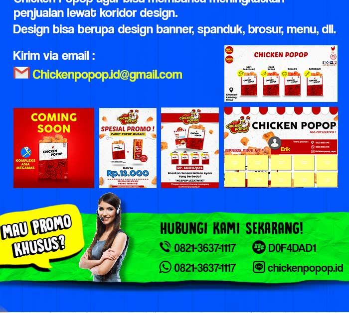 Franchise Peluang Usaha Chicken Popop