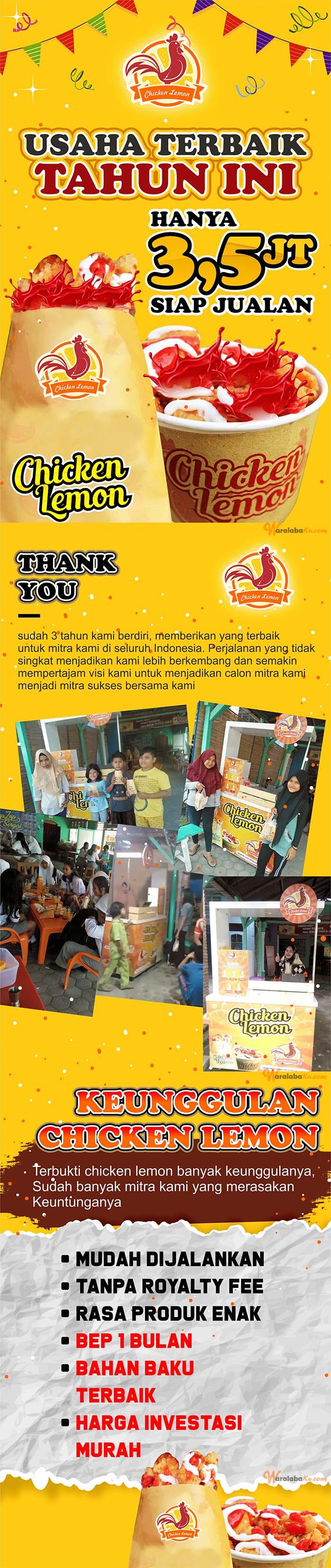 Franchise Peluang Usaha Chicken Lemon