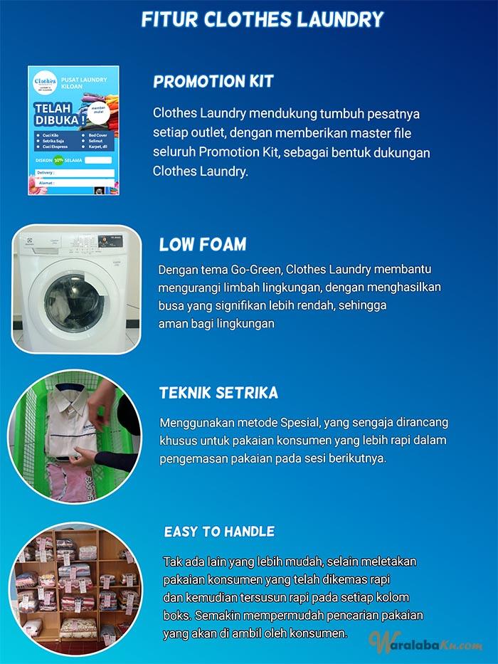 Franchise Peluang Usaha Clothes Laundry