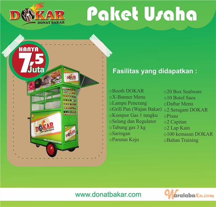 Franchise Peluang Usaha DOKAR (Donat Bakar)