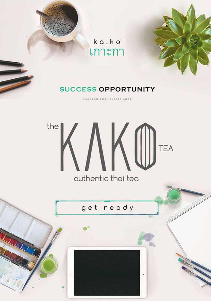 Franchise Peluang Usaha Kako Thai Tea Indonesia
