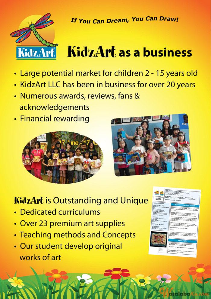 Franchise Pendidikan Anak KidzArt | Peluang Bisnis Art ...