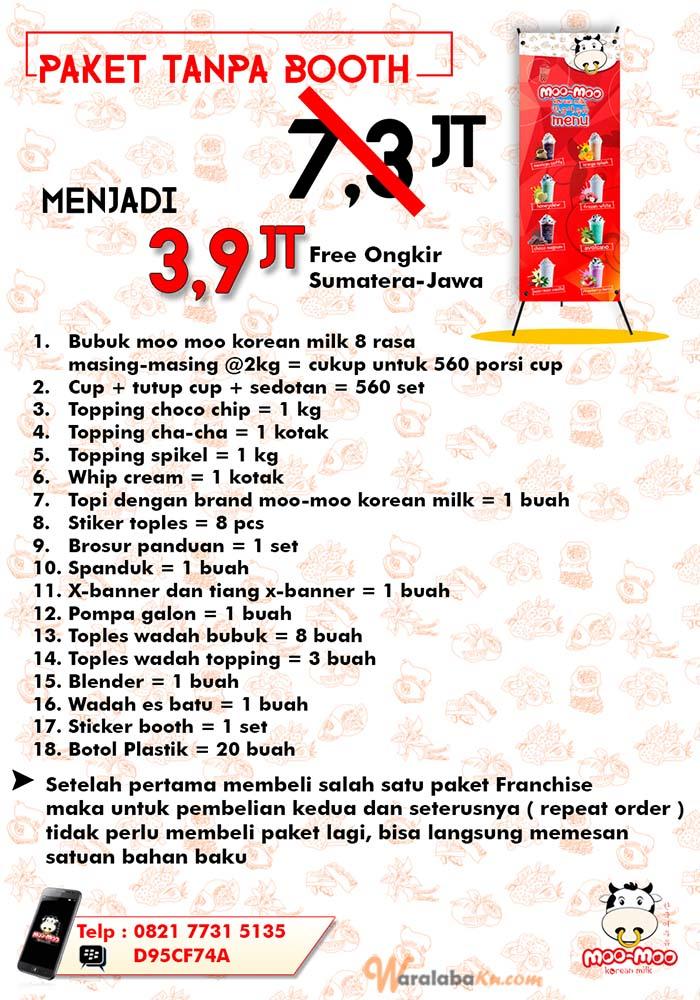 Franchise Peluang Usaha Moo-Moo Korean Milk