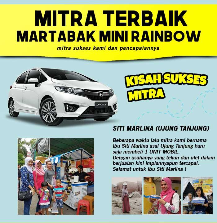 Franchise Peluang Usaha Martabak Mini Rainbow