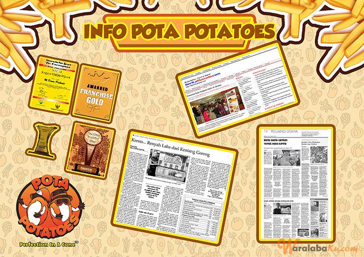 Franchise Peluang Usaha Pota Potatoes