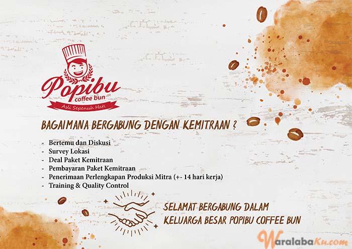 Franchise Peluang Usaha Roti Popibu Coffee Bun