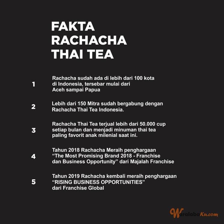 Franchise Peluang Usaha Rachacha Thai Tea