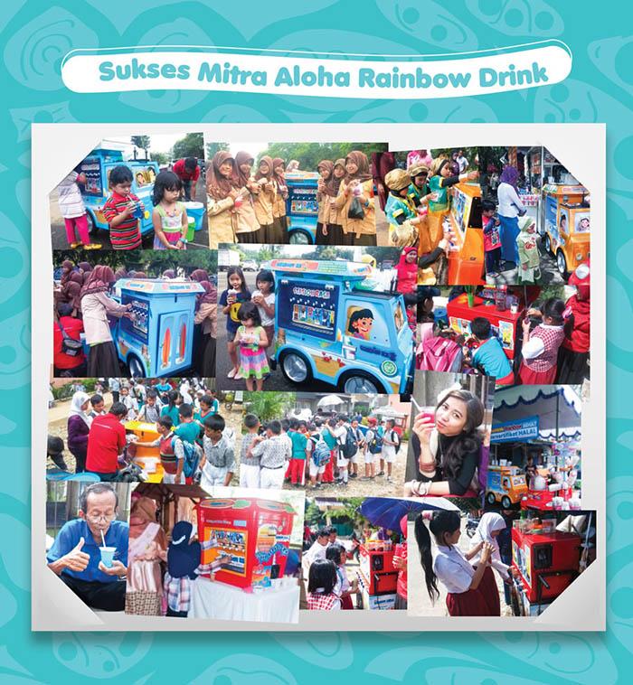Franchise Peluang Usaha Aloha Rainbow Drink