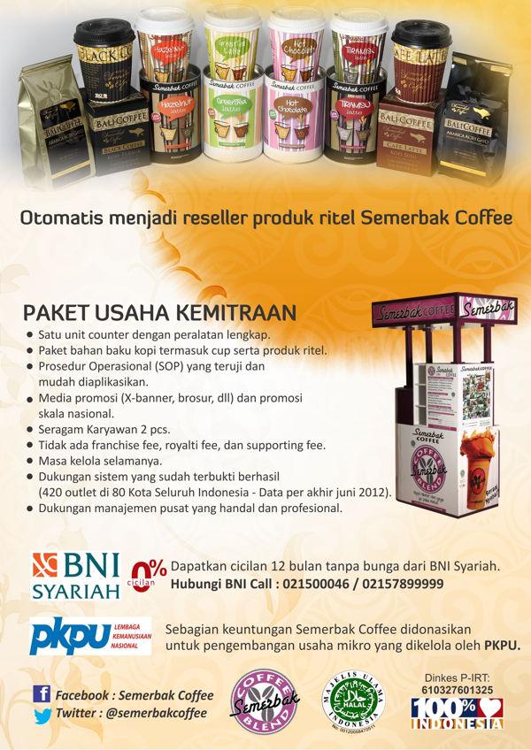 Franchise Peluang Usaha Semerbak Coffee
