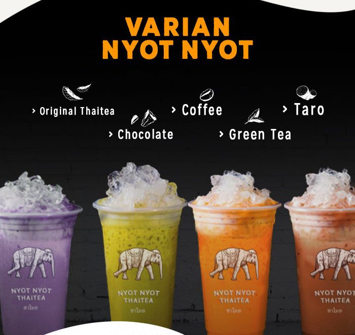 Franchise Peluang Usaha minuman teh nyot nyot thai tea Mitra Sukses