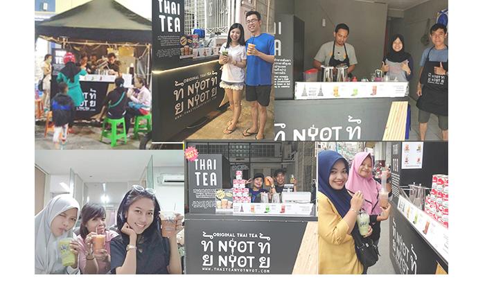 Franchise Peluang Usaha minuman teh nyot nyot thai tea Foto Galeri