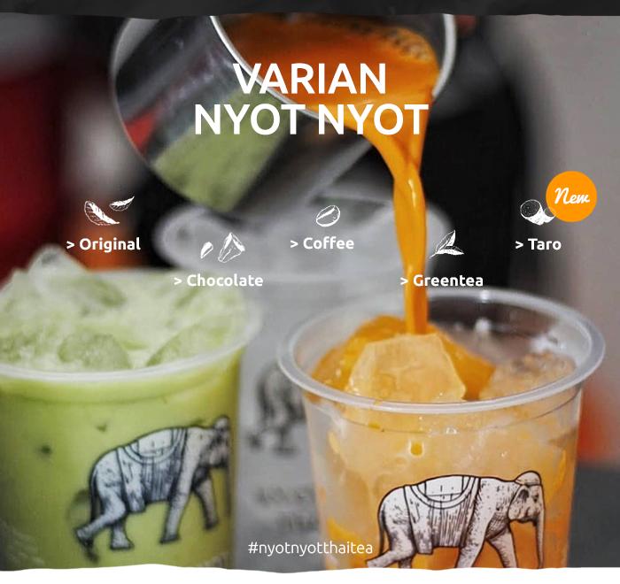 Franchise Peluang Usaha minuman teh nyot nyot thai tea Testimoni