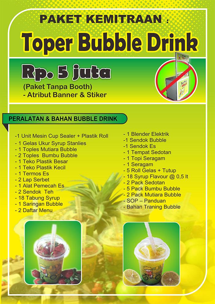Franchise Peluang Usaha TOPER BUBBLE DRINK
