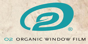 Logo O2 Window Film