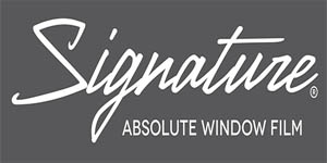 Logo Signature Window Film