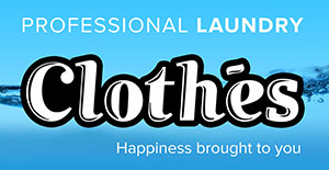 Logo Clothes Laundry