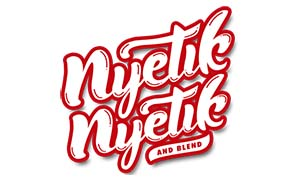 Logo NYetik NYetik And Blend