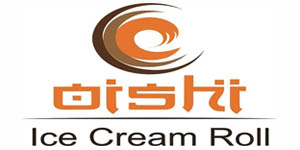 Logo Oishi Ice Cream Roll