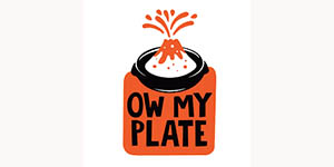 Logo Ow My Plate