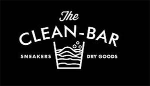Logo The Clean Bar Shoes & Bag Cleaning