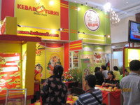 Kebab Turki Baba Rafi @ Franchise & License Expo Indonesia 2010